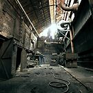 old abandoned place by Denny Stoekenbroek