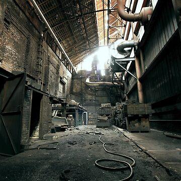 old abandoned place by stoekenbroek