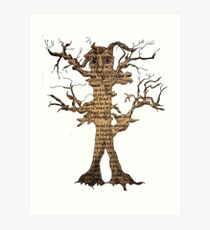 Treebeard from The Lord of The Rings Art Print