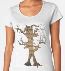 Treebeard from The Lord of The Rings Women's Premium T-Shirt