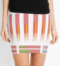 infographic elements for your design Mini Skirt