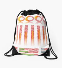 infographic elements for your design Drawstring Bag