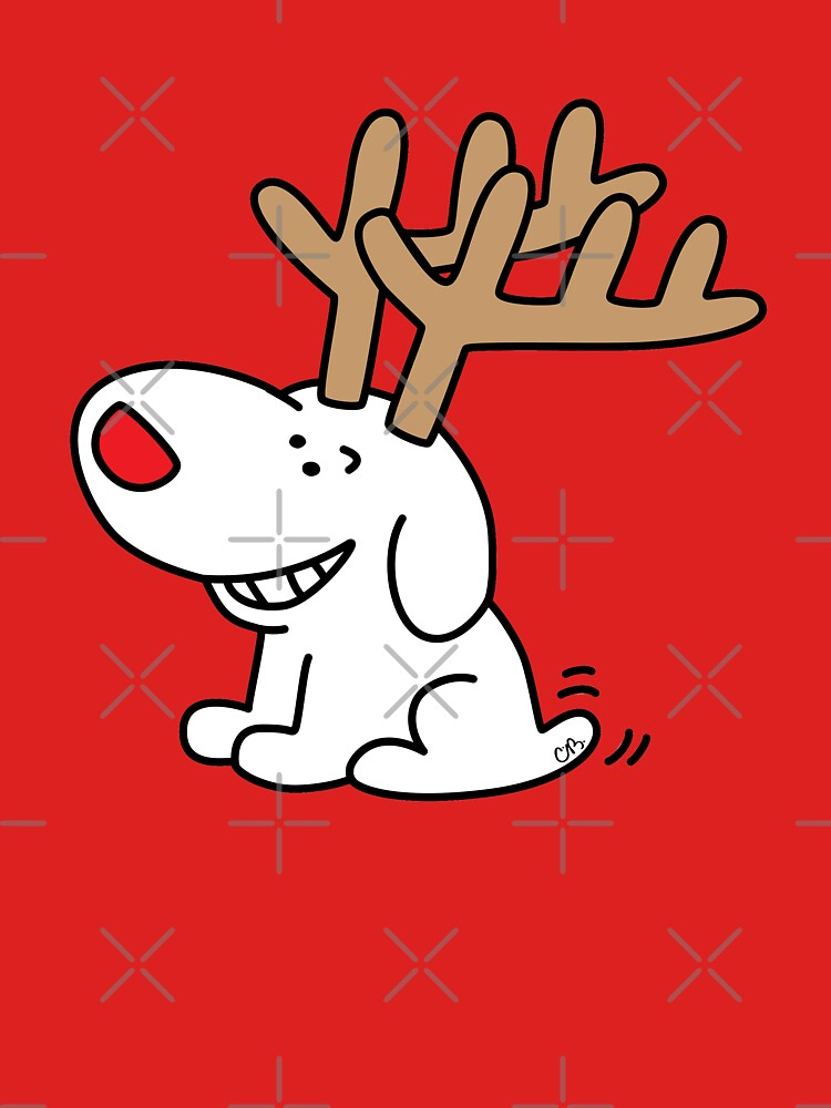 Pup Reindeer by CharleyBarsotti