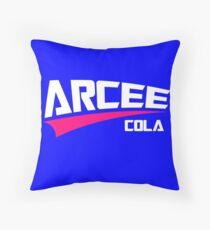 Arcee Cola Throw Pillow
