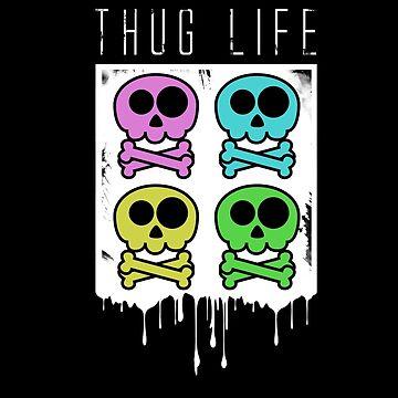 Skull gangster gift idea by Dagostino