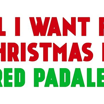 All I Want for Christmas is Jared Padalecki by amandamedeiros