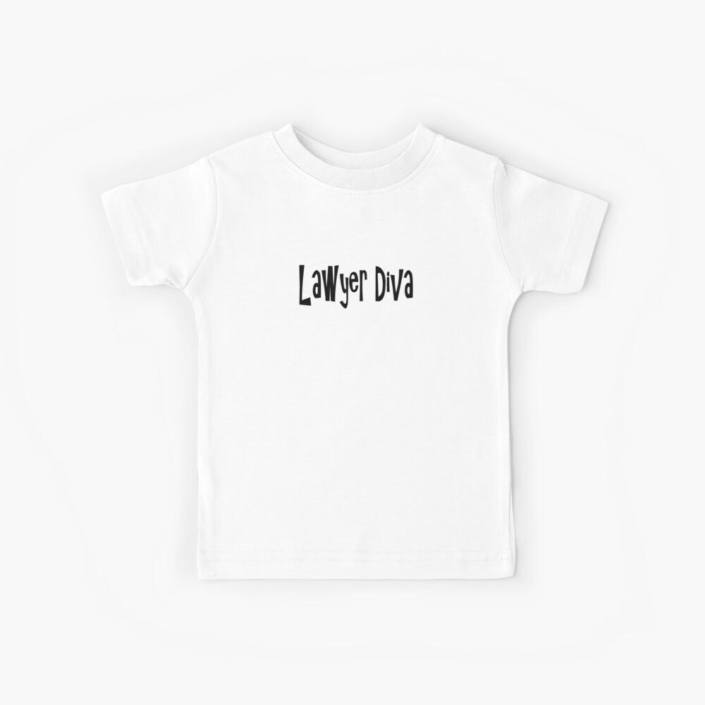 Rechtsanwalt-Diva - lustiges Rechtsanwalt-T-Shirt Kinder T-Shirt