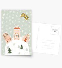 Winter Wonderland Snowscape by Katy Bloss Postcards