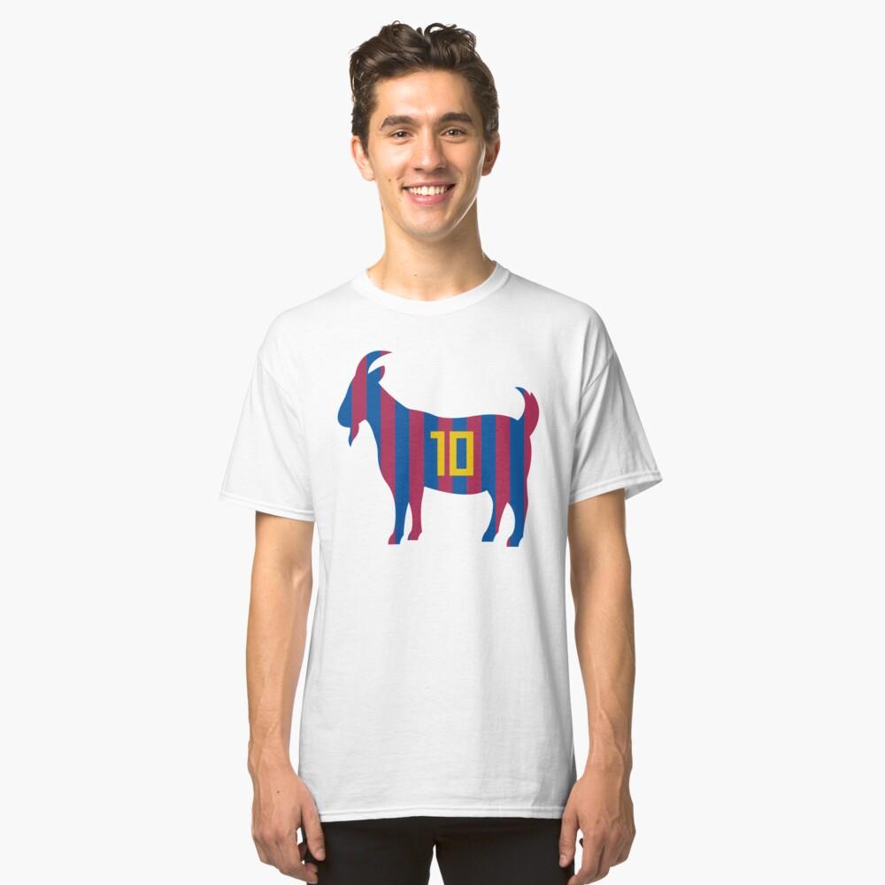 Goat 10 Messi Classic T-Shirt Front