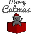 Merry Catmas by pda1986