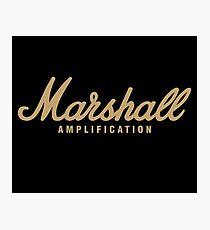 Lámina fotográfica Amplificación Marshall