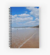 Woolacombe Bay Spiral Notebook