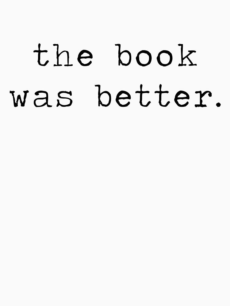 el libro era mejor de redscarf