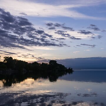 Purple Sunrise Clouds by GeorgiaM