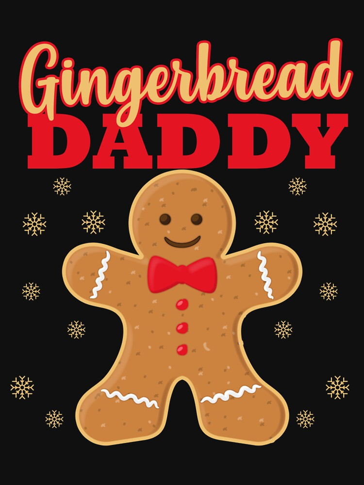Matching Family Christmas Gingerbread Dad Sleep Top by kh123856