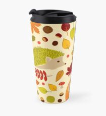 Hedgehogs and Chestnuts Travel Mug