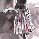 Dancer at the Barre by Ballet Dance-Artist