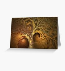 Death of the Autumnal Tree Greeting Card