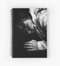 train sleep Spiral Notebook