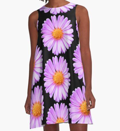 wunderschöne, pinke Blume, Blüte, pink, Sommer A-Linien Kleid