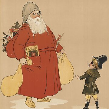 Vintage Saint Nicholas Illustration (1895) by BravuraMedia