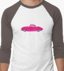 Pink Ghia Men's Baseball ¾ T-Shirt