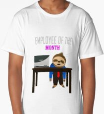 Employee of the Month Long T-Shirt