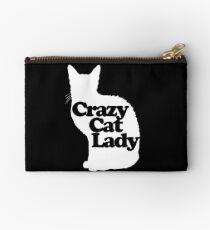 Crazy Cat Lady Zipper Pouch