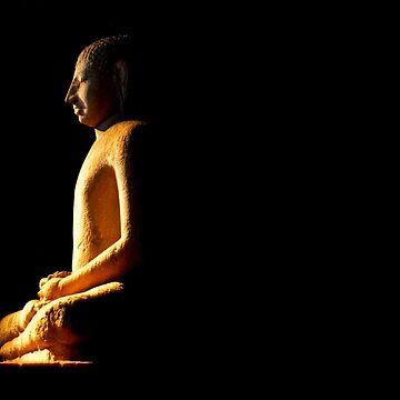 Samadhi Buddha - Anuradhapura by darkydoors