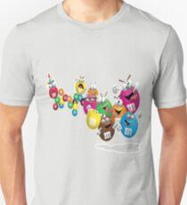 m&m multi color Unisex T-Shirt