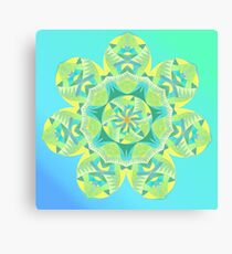Grasshopper Katydid Leaves and Fauna Fall Into Winter Collection by Green Bee Mee Canvas Print