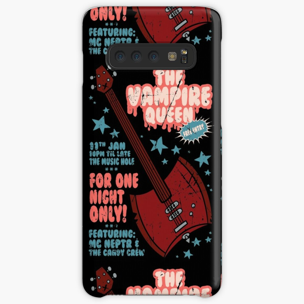 The Vampire Queen Music Poster Case & Skin for Samsung Galaxy