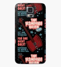 The Vampire Queen Music Poster Case/Skin for Samsung Galaxy