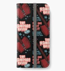 The Vampire Queen Music Poster iPhone Wallet/Case/Skin