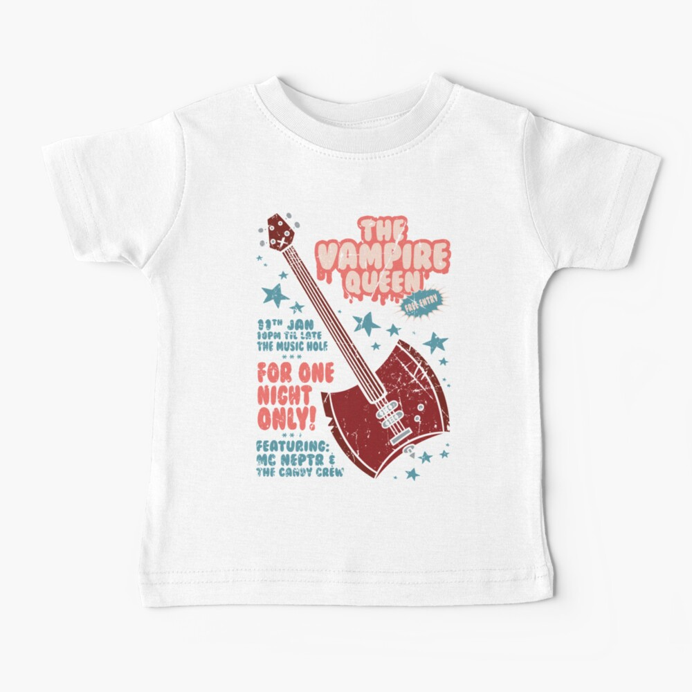 The Vampire Queen Music Poster Baby T-Shirt