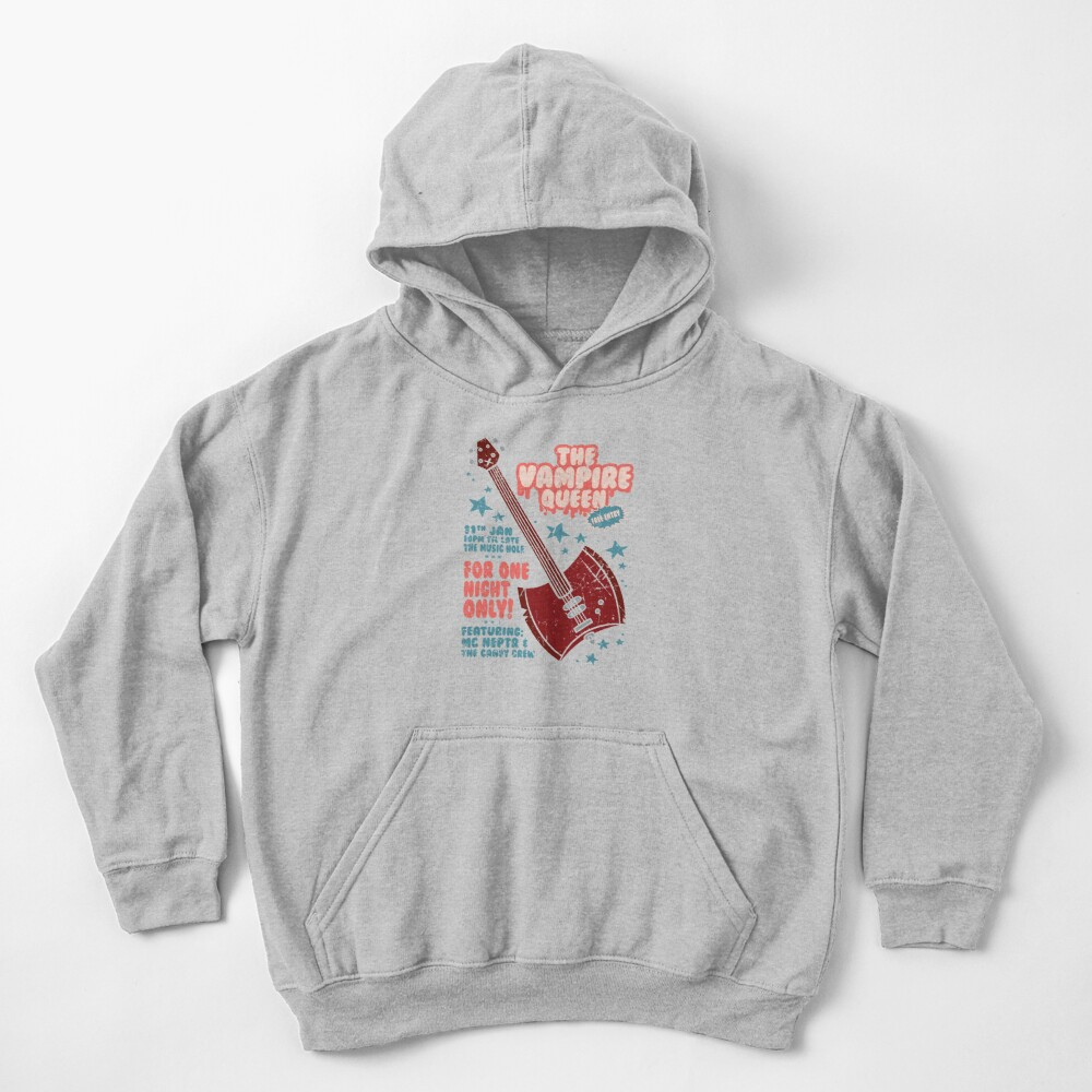 The Vampire Queen Music Poster Kids Pullover Hoodie