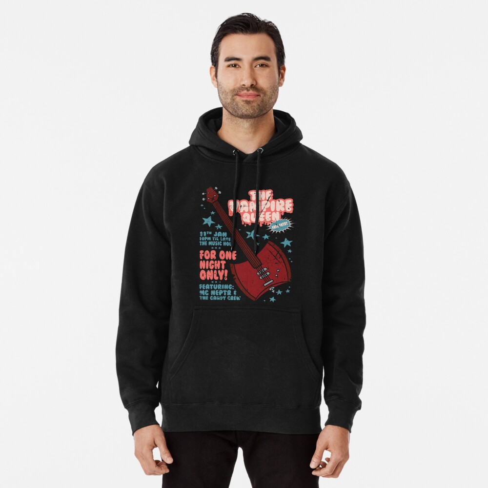 The Vampire Queen Music Poster Pullover Hoodie