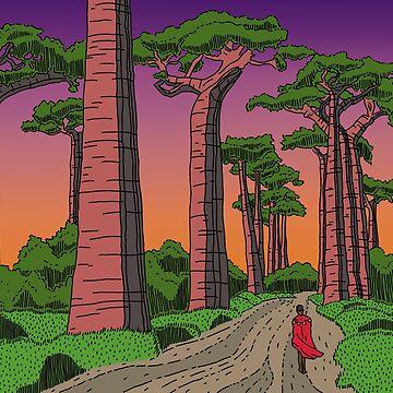 Between the Baobabs by dukeofgarbanzo