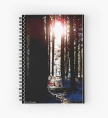 Winterland Spiral Notebook