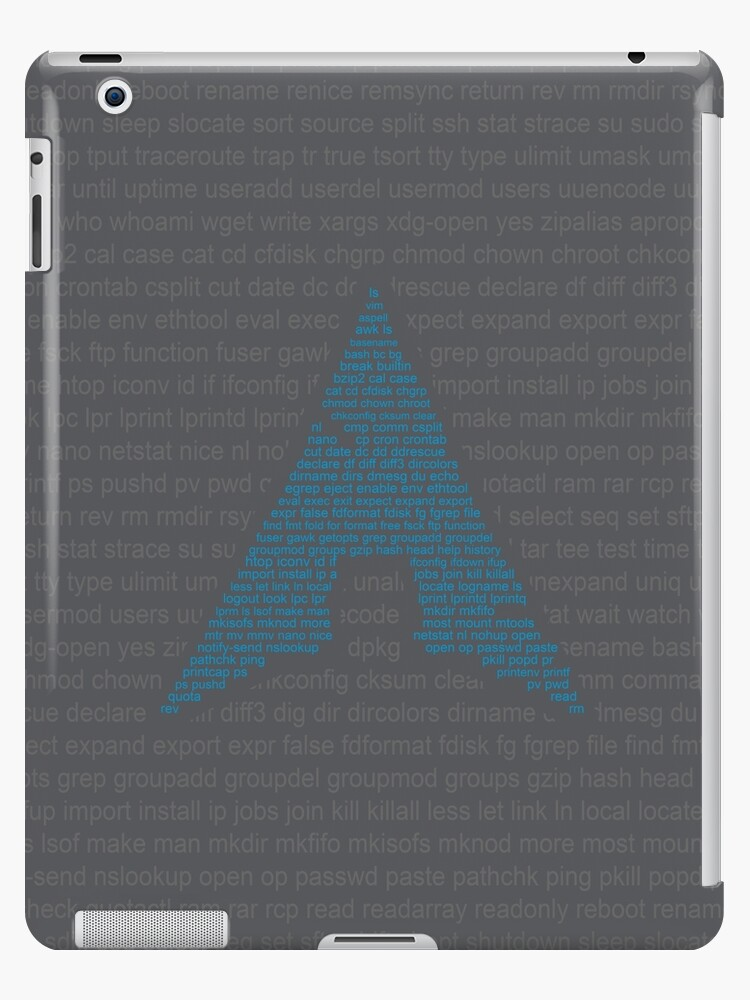 'Linux - Arch Bash Commands' iPad Case/Skin by Seyidaga