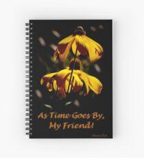 Another Summer Ends ~ My Friend Spiral Notebook