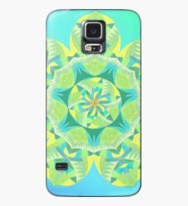 Grasshopper Katydid Leaves and Fauna Fall Into Winter Collection by Green Bee Mee Case/Skin for Samsung Galaxy