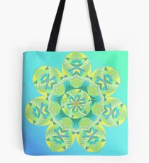 Grasshopper Katydid Leaves and Fauna Fall Into Winter Collection by Green Bee Mee Tote Bag