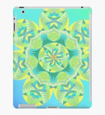 Grasshopper Katydid Leaves and Fauna Fall Into Winter Collection by Green Bee Mee iPad Case/Skin