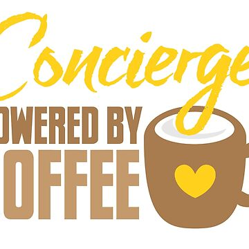 Concierge powered by coffee by jazzydevil
