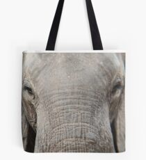 Closeup of African elephant Tote Bag