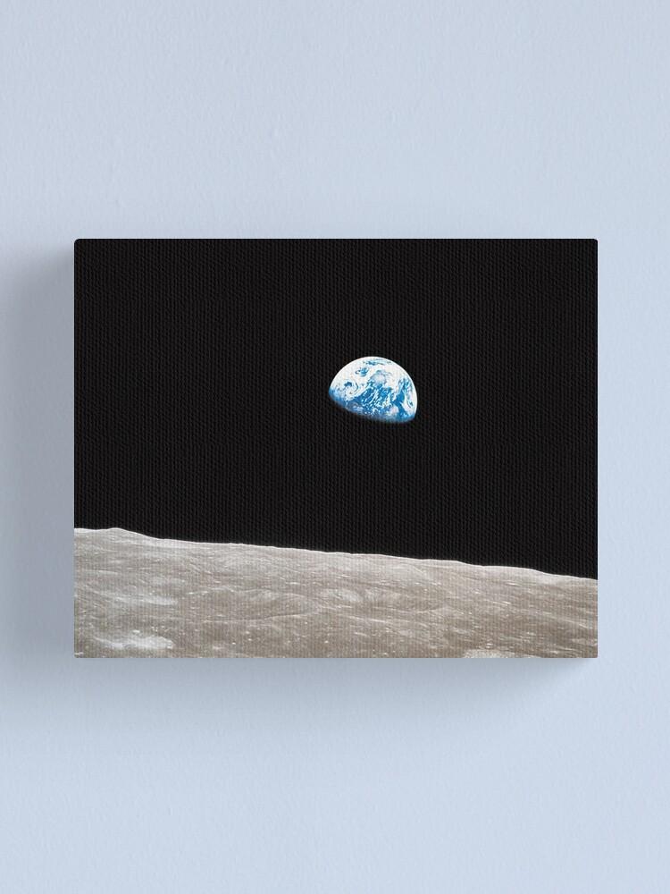 Alternate view of Earthrise Apollo 8 Canvas Print