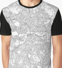 London map poster print wall art, United Kingdom gift printable, Home and Nursery, Modern map decor for office, Map Art, Map Gifts Graphic T-Shirt