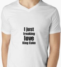 King Cake Design Illustration T Shirts Redbubble