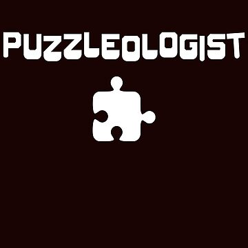 Puzzleologist Funny Family Game Time T-Shirt Gift:   Gift For Puzzle Lover   Holidays   Game Night    by larspat
